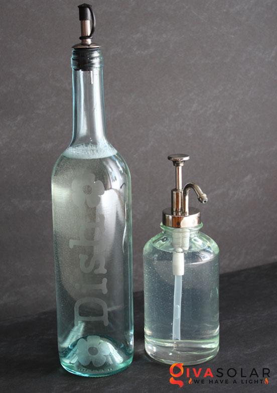 Ý tượng trang trí độc đáo với chai rượu 19