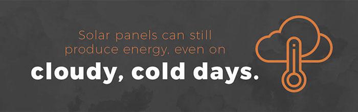 Các tấm pin năng lượng mặt trời có hoạt động vào mùa đông không 1
