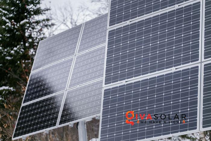 Các tấm pin năng lượng mặt trời có hoạt động vào mùa đông không 3