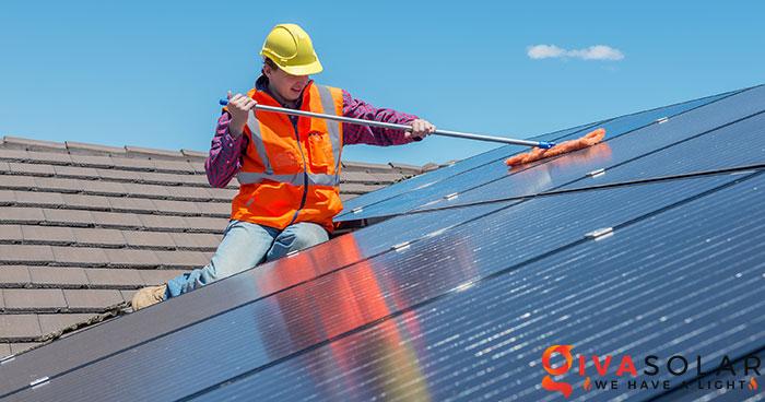 Các tấm pin năng lượng mặt trời có hoạt động vào mùa đông không 2