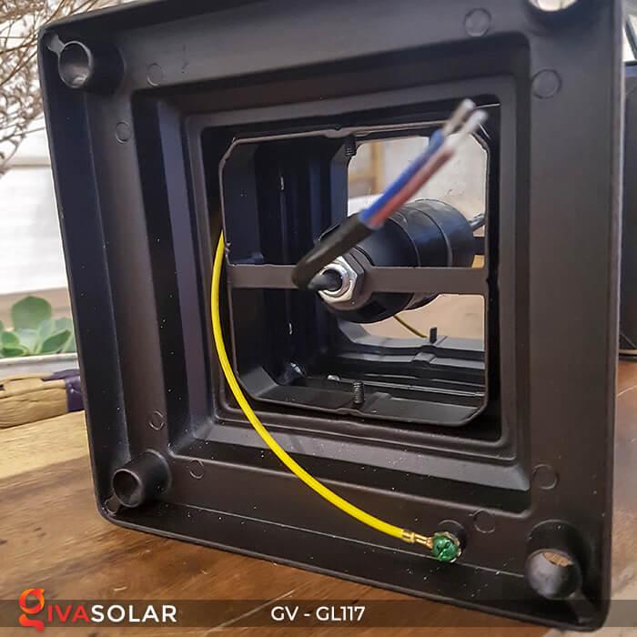 Đèn cổng năng lượng mặt trời GV-GL117 12