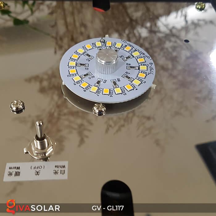 Đèn cổng năng lượng mặt trời GV-GL117 14