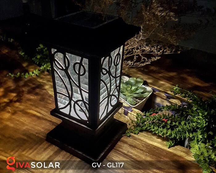 Đèn cổng năng lượng mặt trời GV-GL117 6