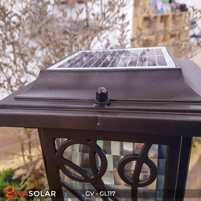 Đèn cổng năng lượng mặt trời GV-GL117 9