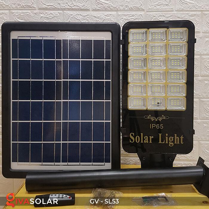 Set đèn đường năng lượng mặt trời GV-SL53 3