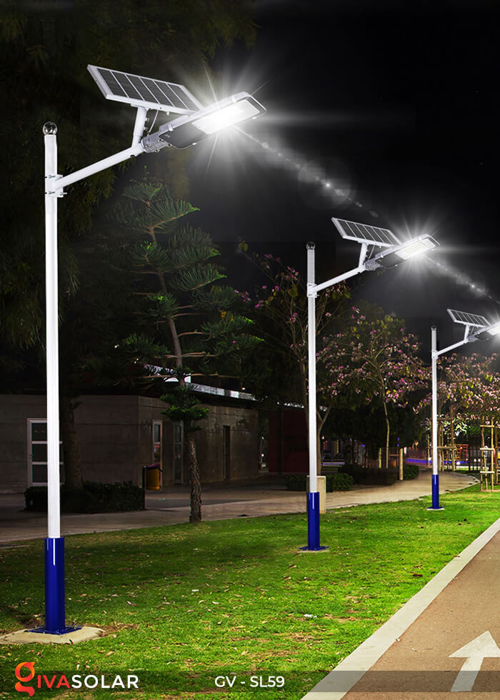 Đèn chiếu sáng đường năng lượng mặt trời GV-SL59 16