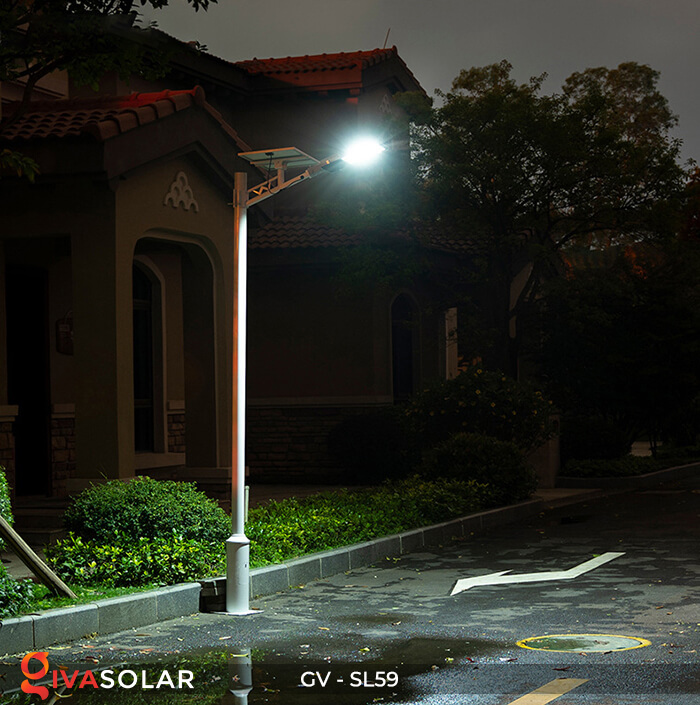Đèn chiếu sáng đường năng lượng mặt trời GV-SL59 18