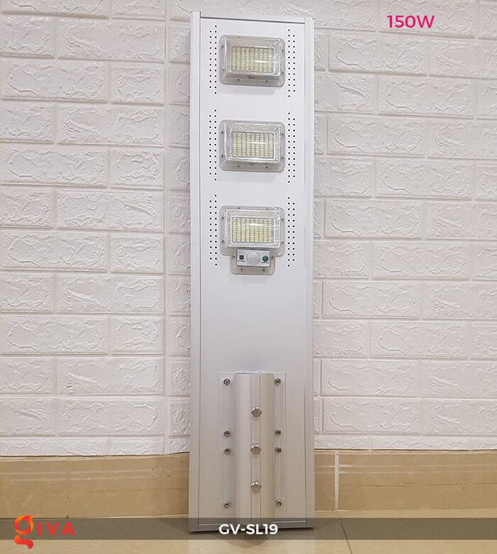 Đèn đường LED cao cấp năng lượng mặt trời GV-SL19 12