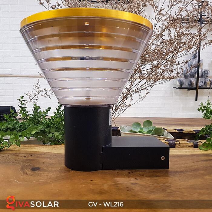 Đèn Led năng luongj mặt trời gắn tường GV-WL216 1