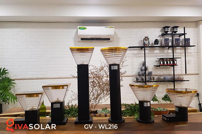 Đèn Led năng luongj mặt trời gắn tường GV-WL216 14