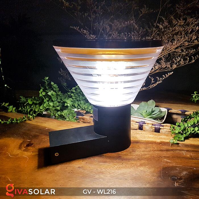 Đèn Led năng luongj mặt trời gắn tường GV-WL216 4