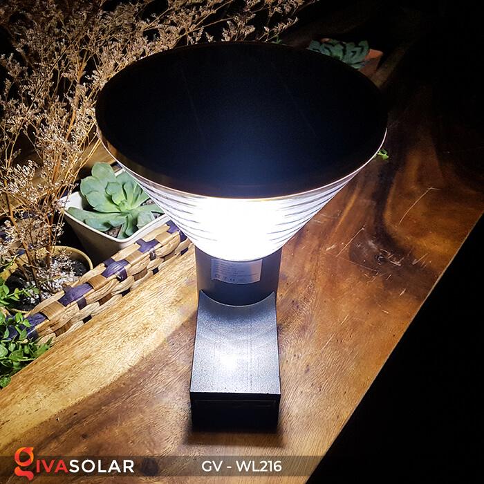 Đèn Led năng luongj mặt trời gắn tường GV-WL216 6