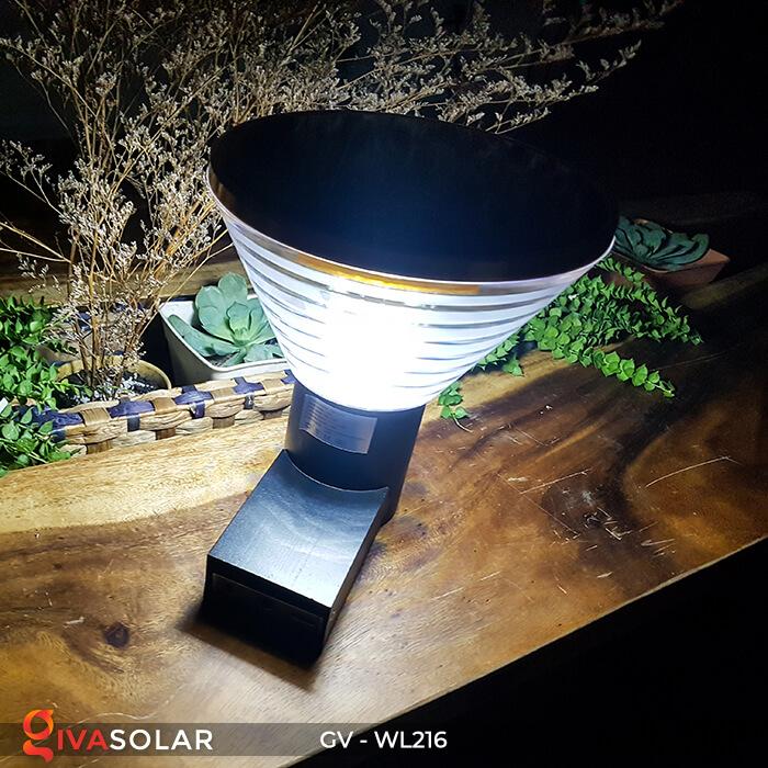 Đèn Led năng luongj mặt trời gắn tường GV-WL216 7