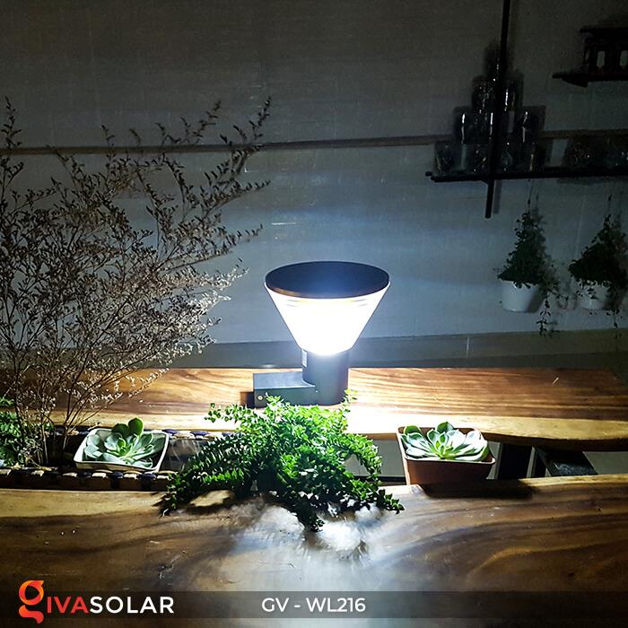 Đèn Led năng luongj mặt trời gắn tường GV-WL216 9
