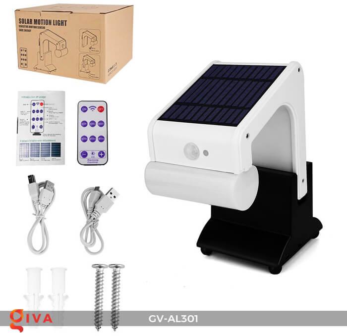 Đèn năng lượng mặt trời kết nối bluetooth phát nhạc GV-AL301 1