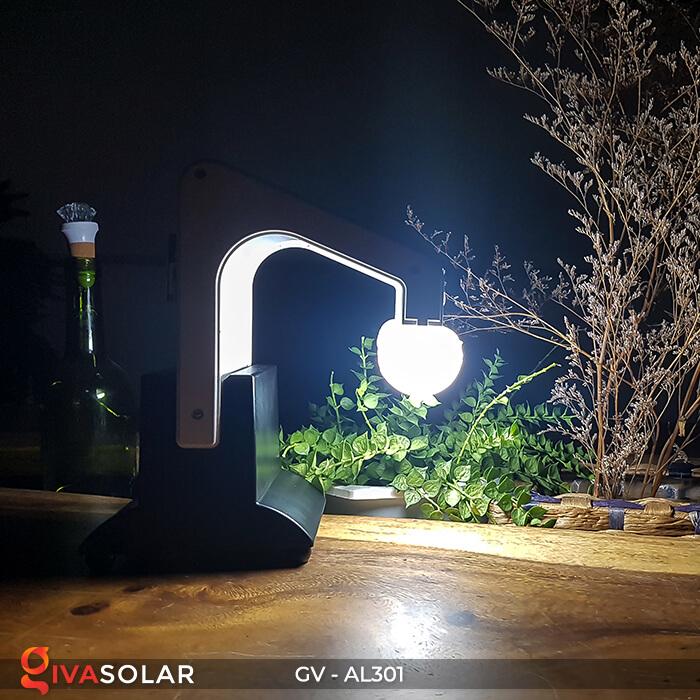 Đèn năng lượng mặt trời kết nối bluetooth phát nhạc GV-AL301 11