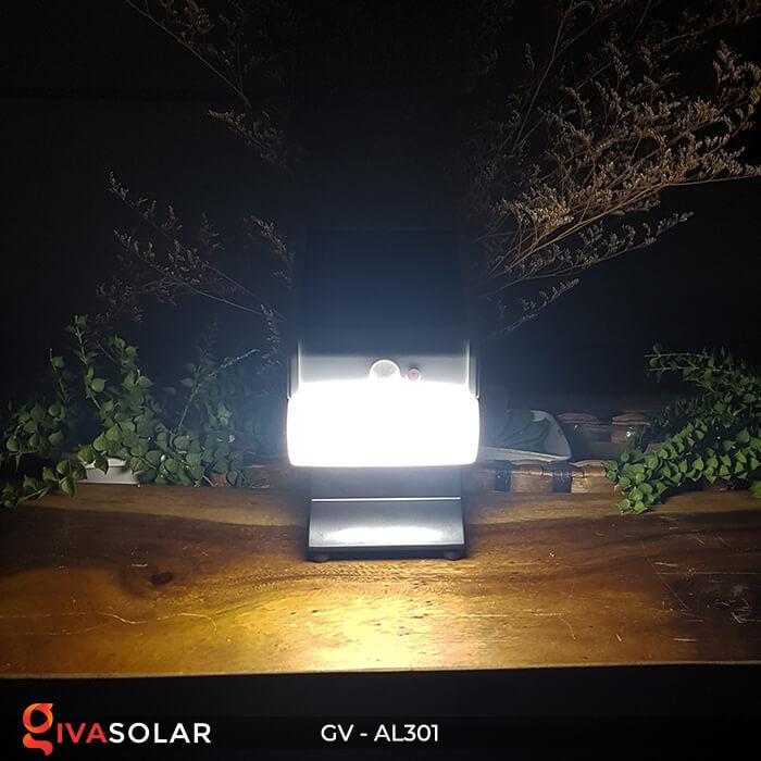 Đèn năng lượng mặt trời kết nối bluetooth phát nhạc GV-AL301 12