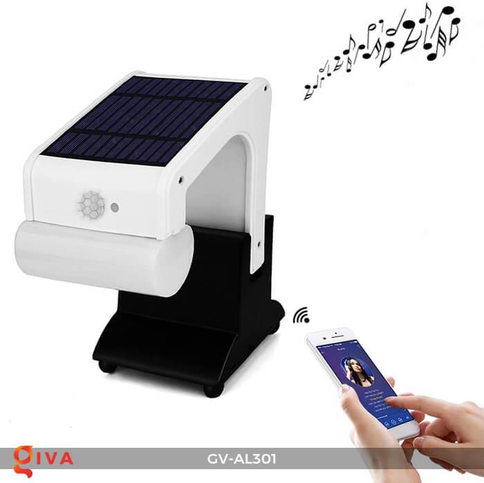 Đèn năng lượng mặt trời kết nối bluetooth phát nhạc GV-AL301 3