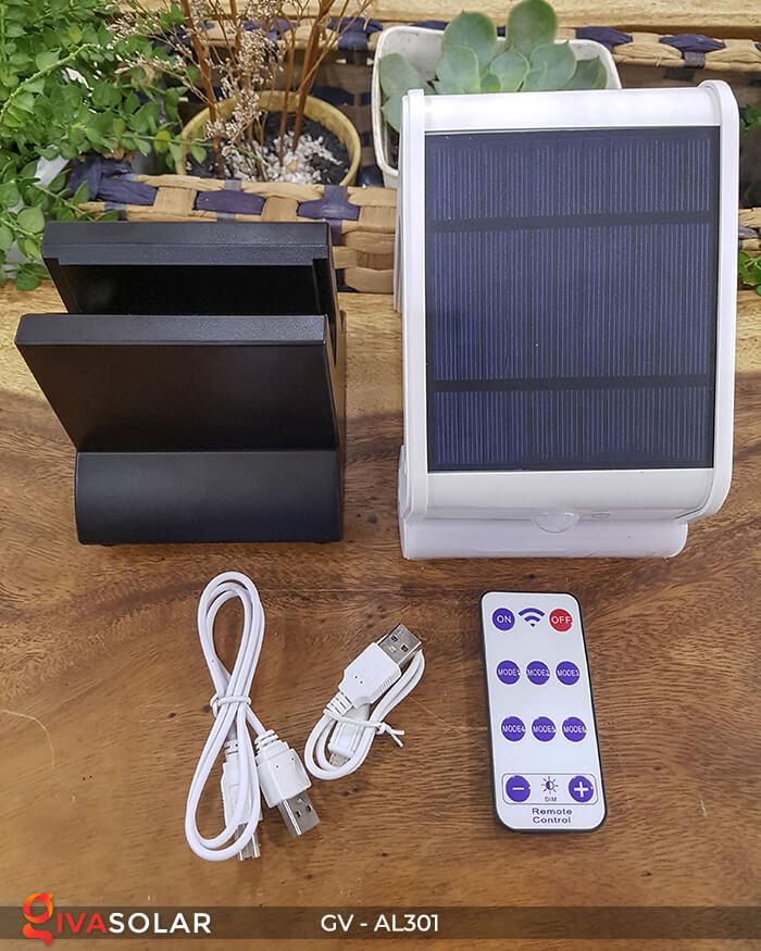 Đèn năng lượng mặt trời kết nối bluetooth phát nhạc GV-AL301 5