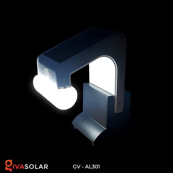 Đèn năng lượng mặt trời kết nối bluetooth phát nhạc GV-AL301 9