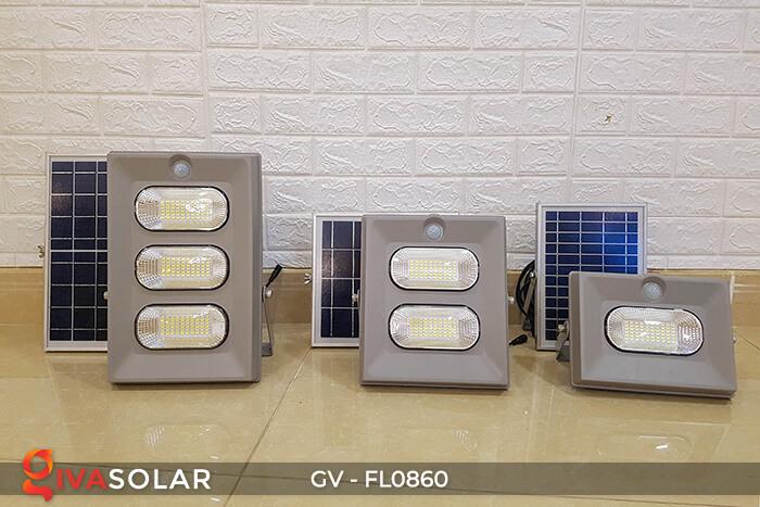 Đèn pha năng lượng mặt trời có cảm biến GV-FL0860 1