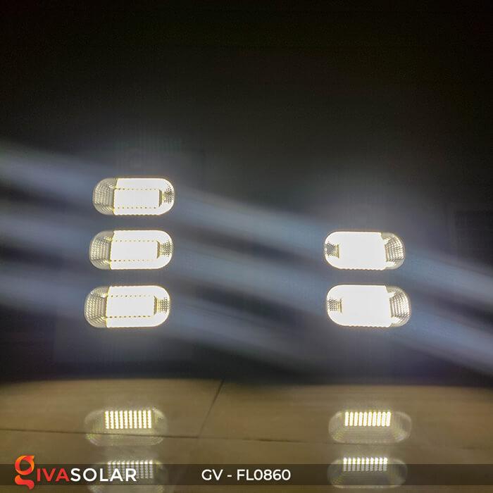 Đèn pha năng lượng mặt trời có cảm biến GV-FL0860 2