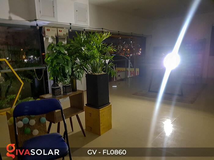 Đèn pha năng lượng mặt trời có cảm biến GV-FL0860 4