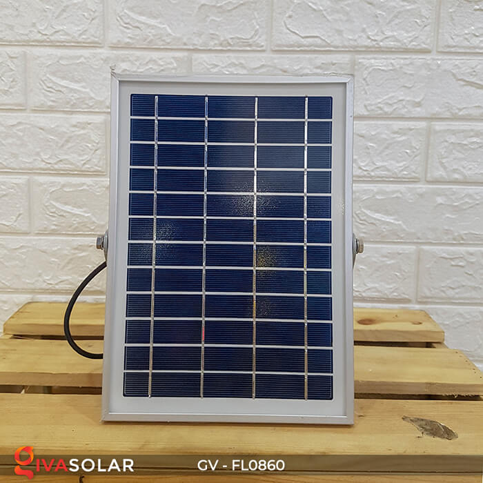 Đèn pha năng lượng mặt trời có cảm biến GV-FL0860 8