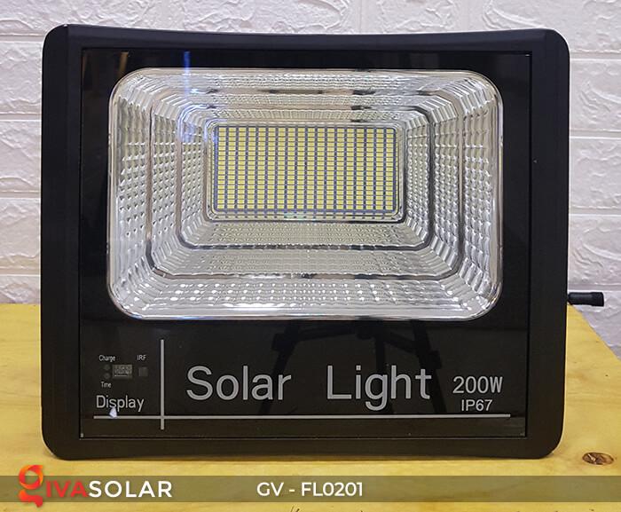 Đèn pha công suất lớn solar GV-FL0201 200W 6