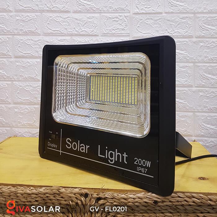 Đèn pha công suất lớn solar GV-FL0201 200W 7