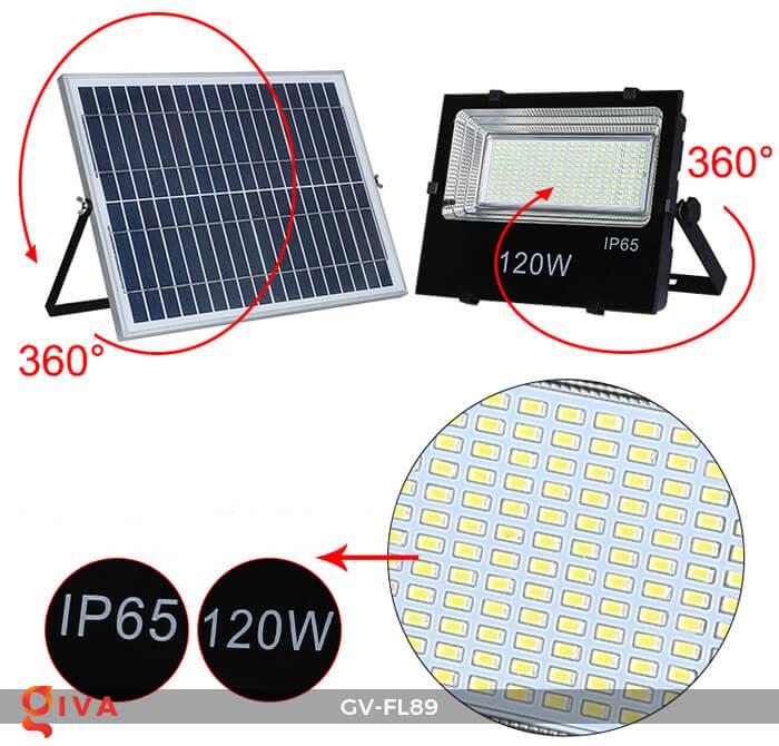 Đèn pha năng lượng mặt trời cao cấp GV-FL89 14