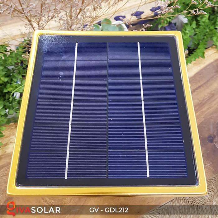 Đèn trụ năng lượng mặt trời GV-GDL212 13