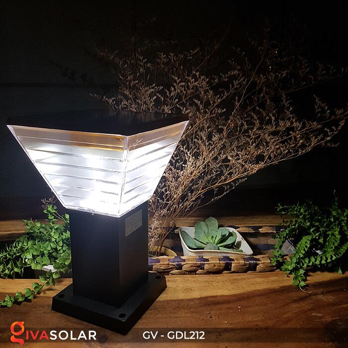 Đèn trụ năng lượng mặt trời GV-GDL212 3
