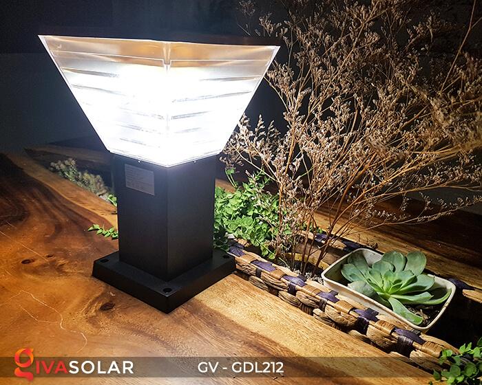 Đèn trụ năng lượng mặt trời GV-GDL212 4