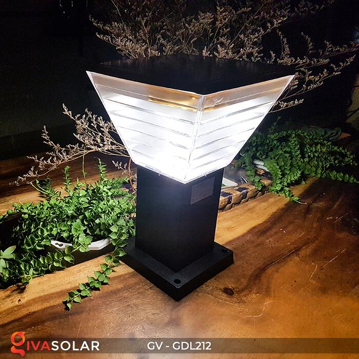 Đèn trụ năng lượng mặt trời GV-GDL212 5