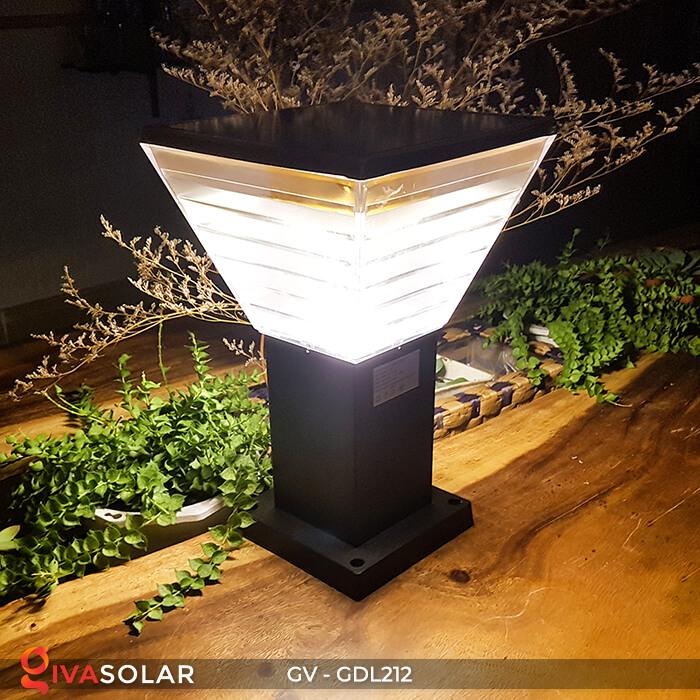 Đèn trụ năng lượng mặt trời GV-GDL212 6