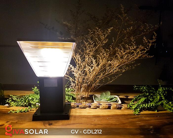 Đèn trụ năng lượng mặt trời GV-GDL212 7