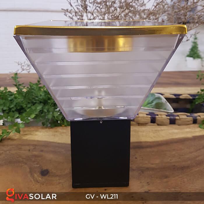 Đèn treo tường năng lượng mặt trời GV-WL211 1