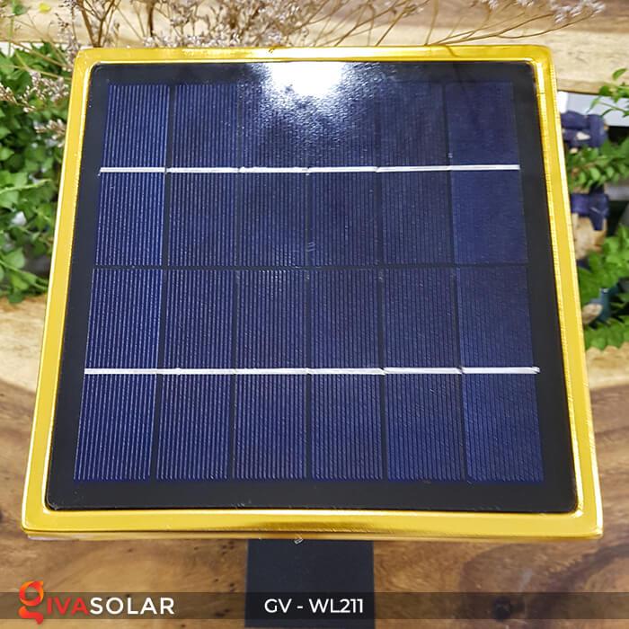 Đèn treo tường năng lượng mặt trời GV-WL211 13