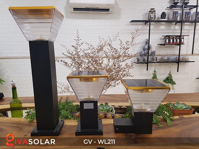 Đèn treo tường năng lượng mặt trời GV-WL211 15