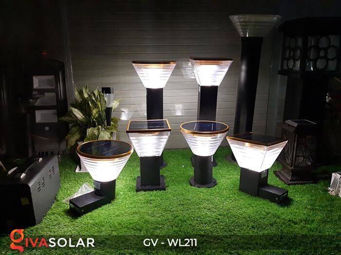 Đèn treo tường năng lượng mặt trời GV-WL211 16