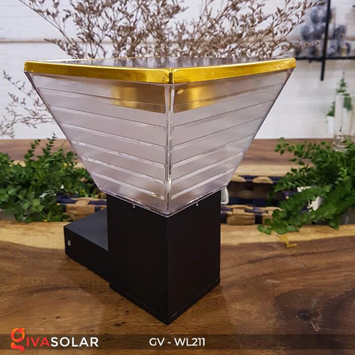 Đèn treo tường năng lượng mặt trời GV-WL211 2