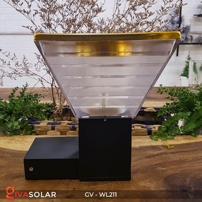 Đèn treo tường năng lượng mặt trời GV-WL211 3