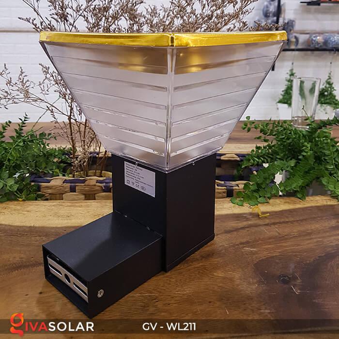 Đèn treo tường năng lượng mặt trời GV-WL211 4
