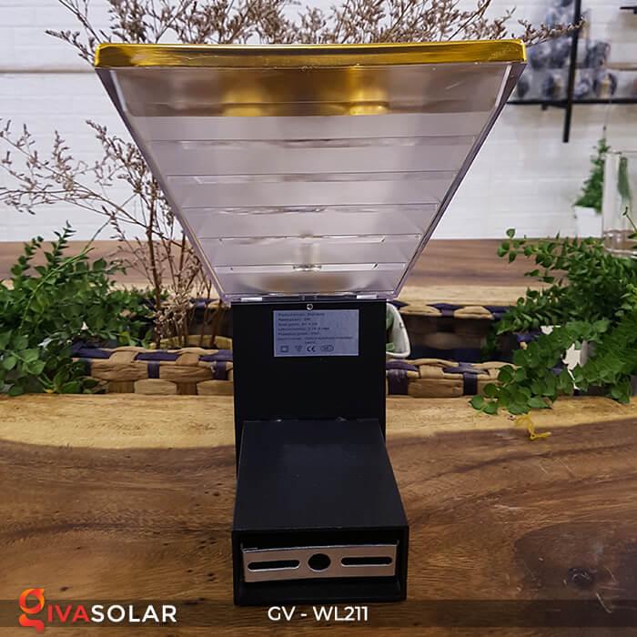 Đèn treo tường năng lượng mặt trời GV-WL211 5