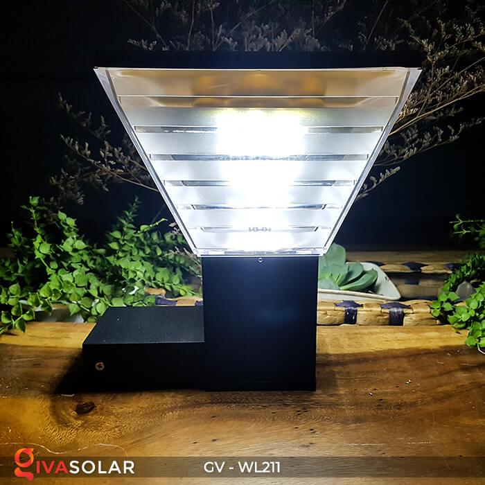 Đèn treo tường năng lượng mặt trời GV-WL211 6