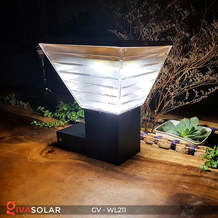 Đèn treo tường năng lượng mặt trời GV-WL211 7