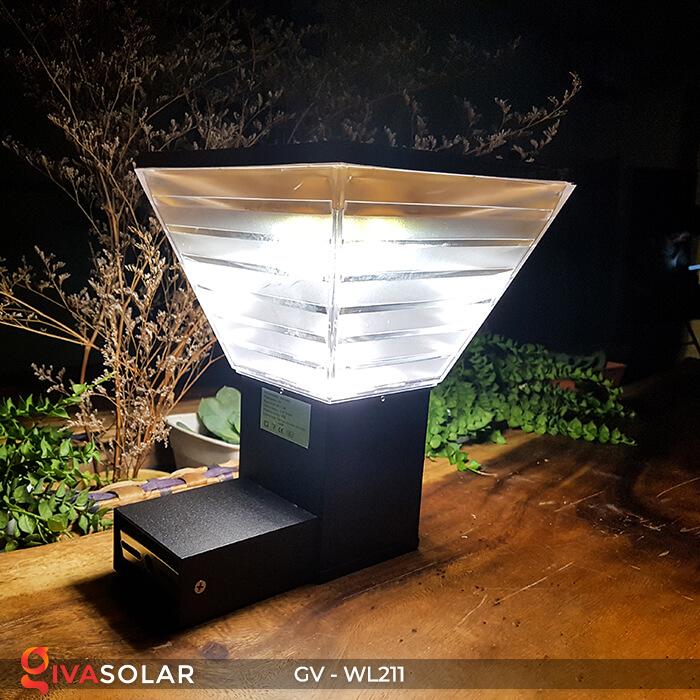 Đèn treo tường năng lượng mặt trời GV-WL211 8