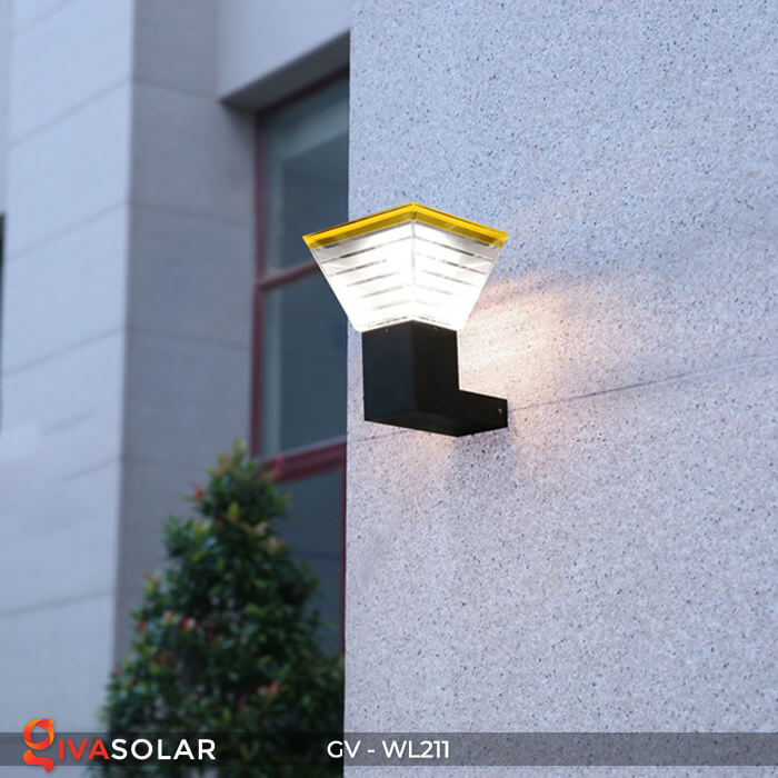 Đèn treo tường năng lượng mặt trời GV-WL211 9