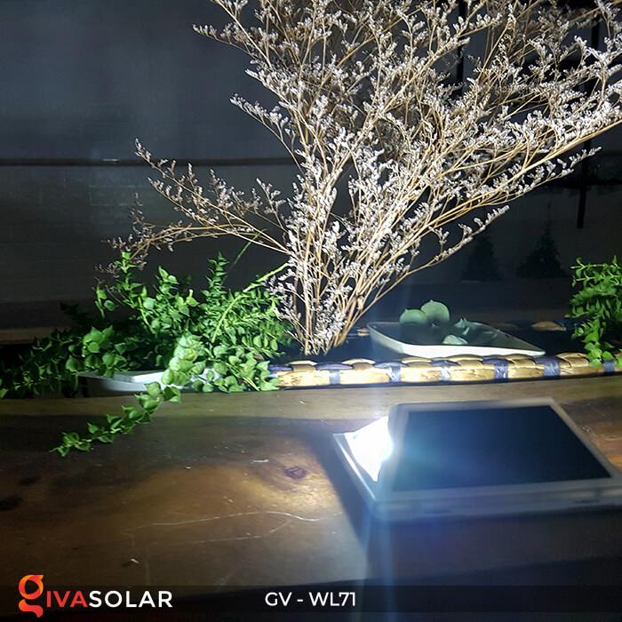 Đèn LED COB gắn tường năng lượng mặt trời GV-WL71 13